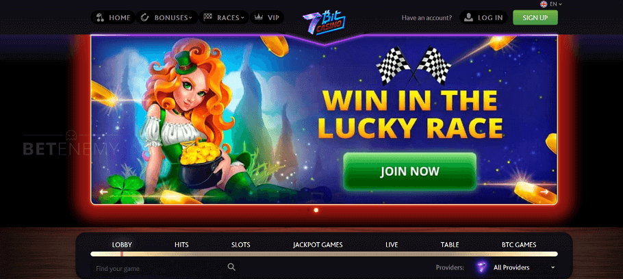7bit Casino Review Crypto Games With Btc Slots Pros Cons 2020