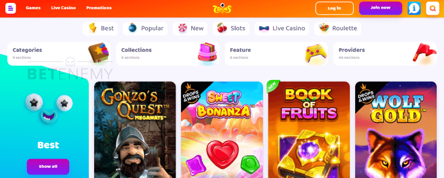 7signs casino homepage