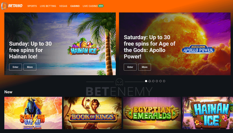 Betano Casino Review - Games Tested + Pros/Cons & Rating (2021)