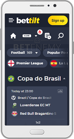 Bettilt Android Football Section