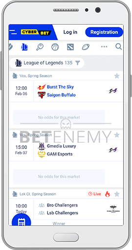 Cyber Bet eSports for Android