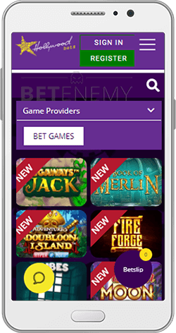 Hollywoodbets Casino on Android