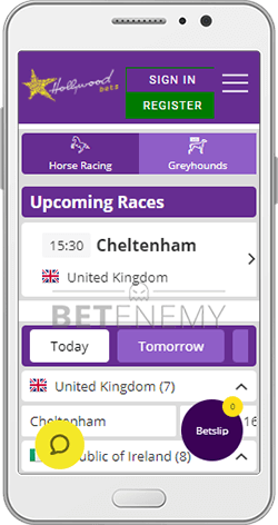 Hollywoodbets Horse Racing on Android