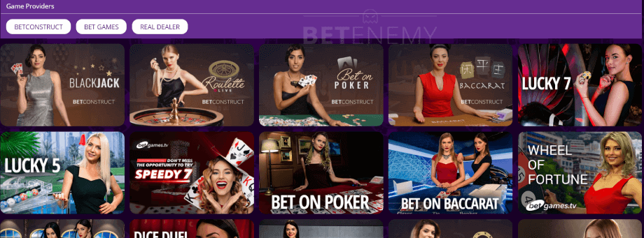 hollywoodbets live casino