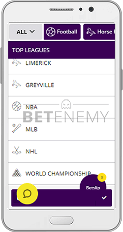 Hollywoodbets Sports Betting on Mobile