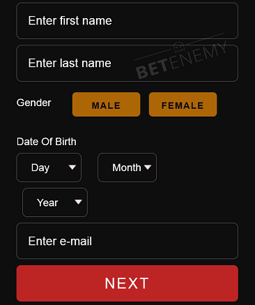 Lord Ping registration form