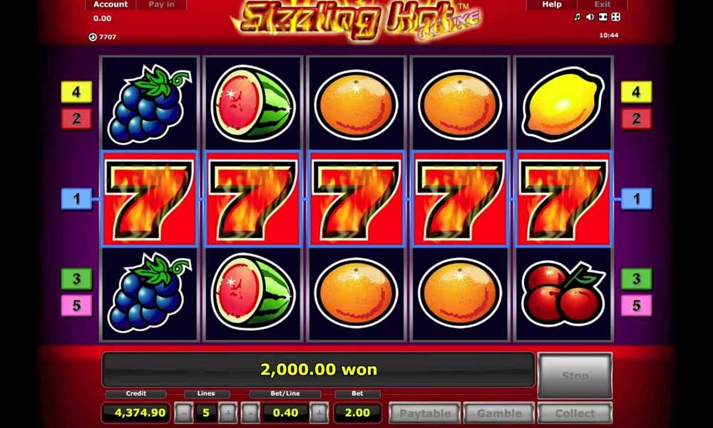 Free Casino Game Sizzling Hot