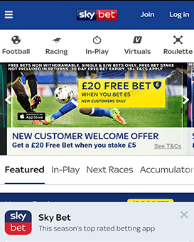 Is sky bet available on android optionsxo binary options