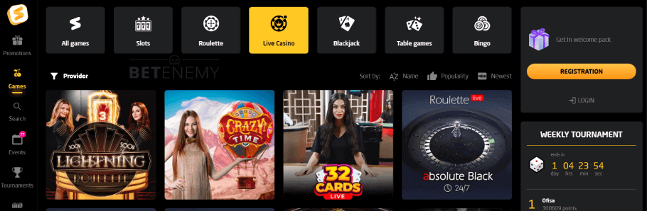 Stay Casino Live Games